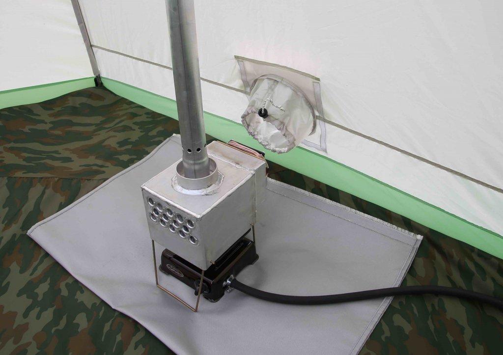 клапан для підсосу повітря на наметі ЛОТОС 3
