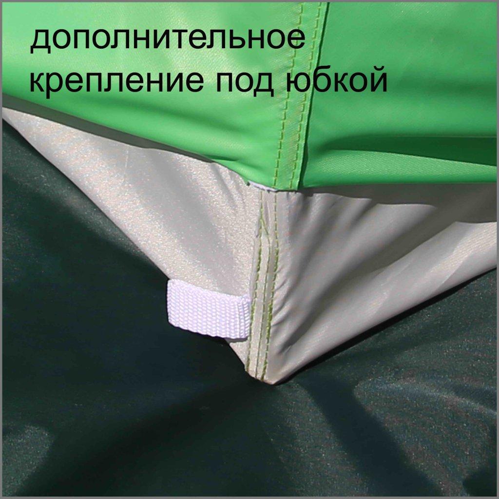 дополнительное крепление под юбкой на зимней палатке ЛОТОС 3
