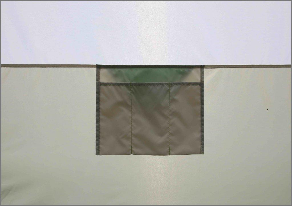 внутренние карманы на стенке палатки ЛОТОС 3