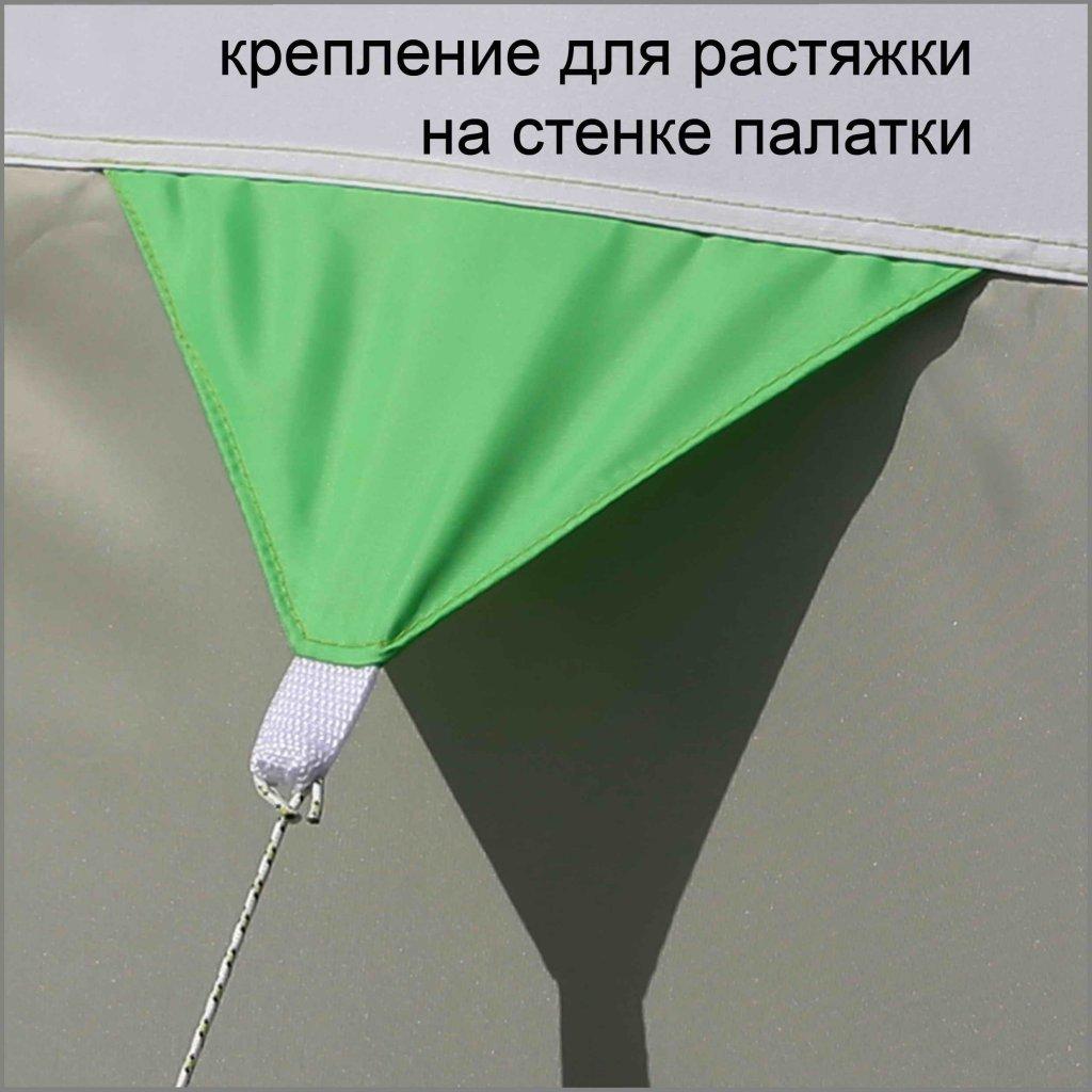 крепление для растяжки на стенке зимней палатки ЛОТОС 3