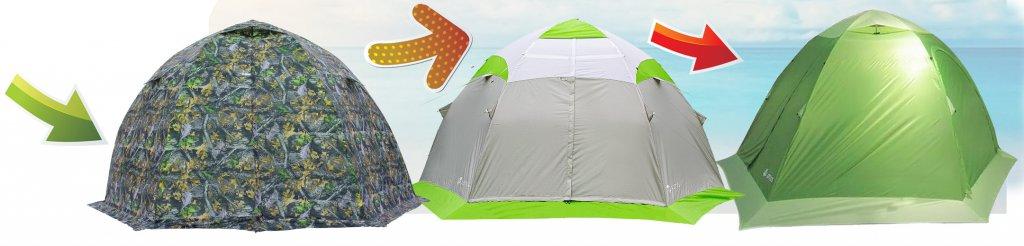 Палатка-трансформер. Универсальная палатка.