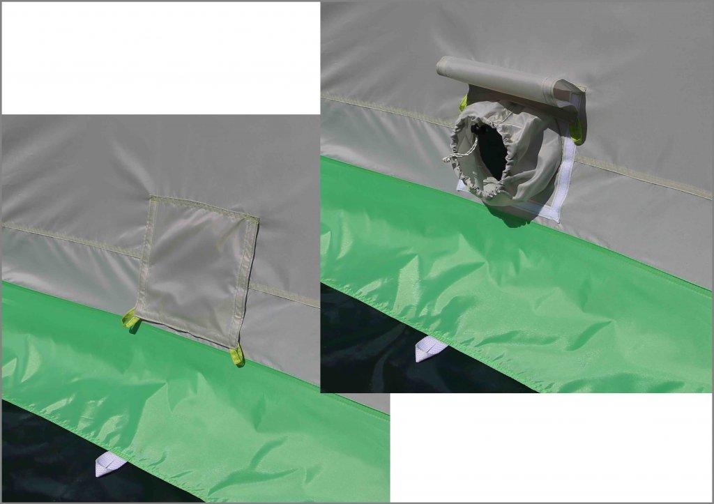 клапан для подсоса воздуха на зимней палатке ЛОТОС 3