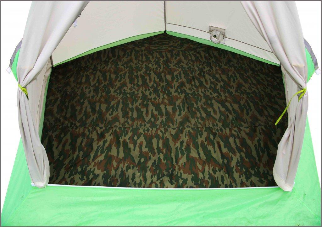 утепленный пол в зимней палатке ЛОТОС 3